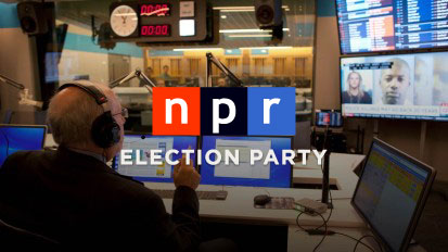 NPR Election Party Chromecast app