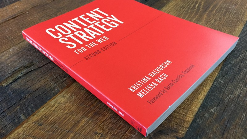 Book report: Content Strategy for the Web